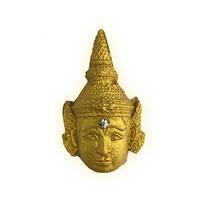 พระลักษณ์หน้าทอง รุ่นเทพเนรมิตร เนื้อขาวหน้าทอง