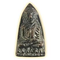 หลวงปู่ทวด พิมพ์เล็กปลายแหลม รุ่น ๑๐๐ พระชันษา ญสส.ทองแดงรมดำ ปี๕๖
