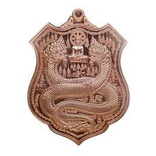 เหรียญพิมพ์อาร์ม คุ้มดวง ร่ำรวย เจ้าปู่ศรีสุทโธ ป่าคำชะโนด เนื้อทองแดงผิวไฟ