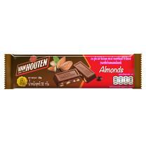 แวนฮูเต็นขนมรสช็อกโกแลตนมผสมอัลมอนด์ 30 กรัม