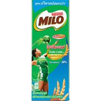 ไมโล UHT สูตรน้ำตาลน้อย เดี่ยว180 มิลลิลิตร