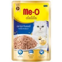 อาหารแมวเปียก ดีไลท์ รสทูน่าในเยลลี่