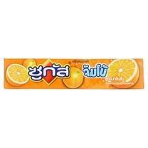 ซูกัสลูกอมจัมโบ้ส้มแท่ง 48 กรัม
