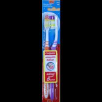 แปรงสีฟันคอลเกต เอ็กซ์ตร้า คลีน แพ็ค 2