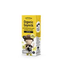 โทฟุซัง นมถั่วเหลืองออร์แกนิค UHT ออริจินัล 230 มิลลิลิตร
