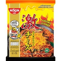 นิสชินซอง รสไก่เผ็ดเกาหลีชีส 60 กรัม