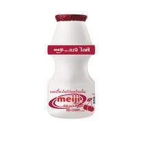 เมจิไลฟ์ นมเปรี้ยวรสเรดเชอร์รี่ ขวด 80 มิลลิลิตร