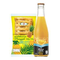 ชุดคอมโบ พายไส้สับปะรด 7-Fresh และ สแปลช น้ำรสส้ม 15%