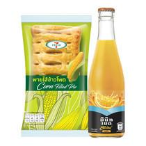 ชุดคอมโบ พายไส้ข้าวโพด 7-Fresh และ สแปลช น้ำรสส้ม 15%