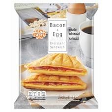 Ezy Taste แซนวิชครัวซองค์เบคอนไข่ 114 กรัม