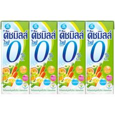 ดัชมิลล์ไลฟ์พลัส นมเปรี้ยว UHTกลิ่นผลไม้รวม 180 มิลลิลิตร แพ็ก4