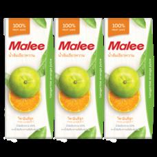 มาลี ส้มเขียวหวาน 200 มิลลิลิตร แพ็ก3