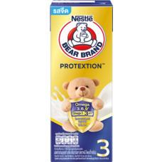 นมUHTตราหมี โปรเทคชั่น สูตร3 ด.180 มิลลิลิตร