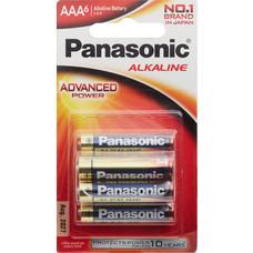 พานาโซนิคถ่านโซนิคอัลคาไลน์AAAแพ็ก6