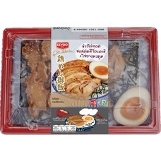 EZYGO ข้าวไก่ทอดซอสคัตสึโอะดาชิ+ไข่ยางมะตูม 270 กรัม