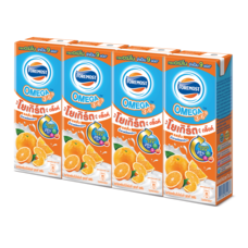 โฟร์โมสต์นมเปรี้ยว UHT โอเมก้าส้ม 170 มิลลิลิตร (แพ็ก4)