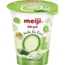 เมจิโยเกิร์ตวุ้นมะพร้าว 0% 135 กรัม