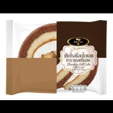 7Fresh เค้กโรลช็อกโกแลตคาราเมลครีมสด
