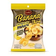ตราแน็คเก็ต กล้วยกรอบแผ่นบาง รสหวาน  33กรัม