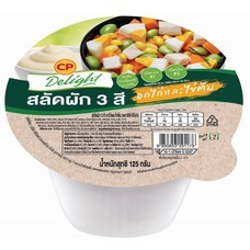 ซีพีดีไลท์ สลัดผัก3สีอกไก่และไข่ต้ม