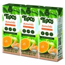 ทิปโก้ส้มสายน้ำผึ้ง 200 มิลลิลิตร แพ็ก3