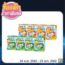 นมเปรี้ยวUHTดัชมิลค์คิดส์ส้ม , ดัชมิลค์คิดส์สตรอ , ดัชมิลค์คิดส์รวม เมื่อซื้อ 2 แพ็กพิเศษ 33 บาทปกติ 38 บาท