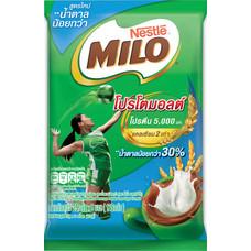 ไมโล3in1 สูตรน้ำตาลน้อย แพ็ค5ซอง