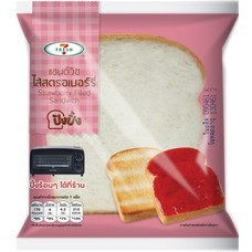 7 Fresh แซนด์วิชไส้สตรอเบอร์รี่ (ปังปิ้ง) 62 กรัม