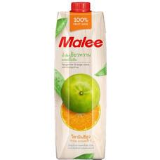 มาลีลิตร น้ำส้มเขียวหวาน 100%