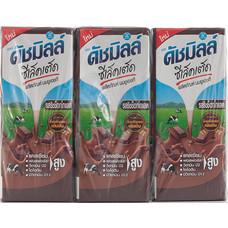 ดัชมิลค์ UHT ซีเลคเต็ดริชช็อกโกแลต (แพ็ก 6) 225 มิลลิลิตร