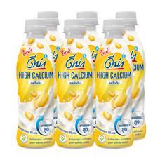 นมถั่วเหลือง UHT ดีน่าไฮแคลเซียมขวด 280 มิลลิลิตร ( แพ็ก6 )