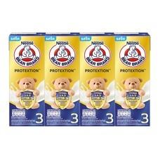 นมUHTตราหมี โปรเทคชั่น สูตร3 (แพ็ก 4) 180 มิลลิลิตร