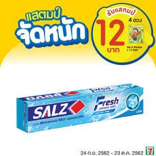 ยาสีฟันซอลส์ เฟรช 1ชิ้น รับแสตมป์4ดวง ( 12 บาท )