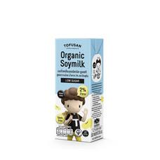 โทฟุซัง นมถั่วเหลืองออร์แกนิค UHT หวานน้อย 230 มิลลิลิตร