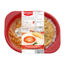 EZYGOข้าวพะแนงหมู+ไข่เจียวหมูสับ