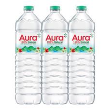 น้ำแร่ออร่า 1500 มิลลิลิตร (แพ็ก 6)
