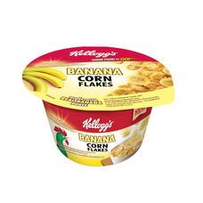 อาหารเช้าเคลลอกซ์ คอร์นเฟลกซ์คัพ กล้วย 28 กรัม