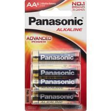 พานาโซนิคถ่านโซนิคอัลคาไลน์AA แพ็ก6