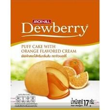 ดิวเบอร์รี่พัฟเค้กสอดไส้ครีมกลิ่นส้ม 17 กรัม