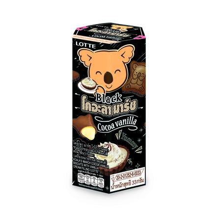 โคอะลามาร์ชขนมปังกรอบรสโกโก้สอดไส้ครีมกลิ่นวนิลลา 33 กรัม