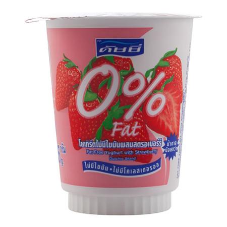 โยเกิร์ตดัชชี่ 0% สตรอเบอร์รี่ 135ก.