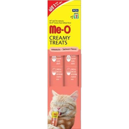 มีโอขนมแมวเลีย รสแซลมอน 15g.x 2Pcs.
