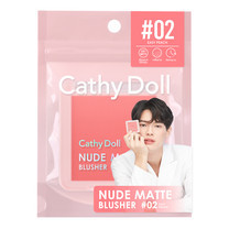 Cathy Doll นู้ดแมทท์บลัชเชอร์ 6g #02 อีซี่พีช