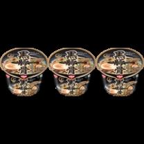 นิสชินชามพรีเมี่ยม รสคุโระทงคตสึราเมง 80 กรัม (แพ็ก3)