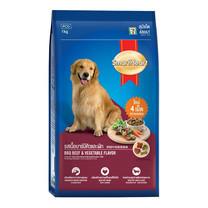 อาหารสุนัขโต สมาร์ทฮาร์ท รสเนื้อบาร์บีคิวและผัก