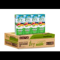 ไอวี่ นมเปรี้ยวUHT รสผลไม้รวม 180 มล. (ยกลัง 48 กล่อง)