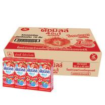ดัชมิลล์ นมเปรี้ยวUHT รสสตรอเบอร์รี่ 180มิลลิลิตร (ขายยกลัง 48 กล่อง)