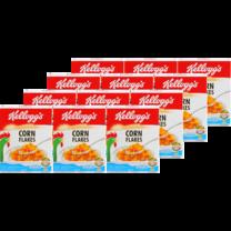 อาหารเช้า เคลลอกส์ คอร์นเฟลกส์ 25 ก. (แพ็ก12)
