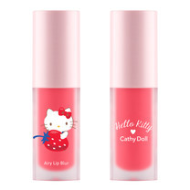 Cathy Doll เฮลโลคิตตี้ แอรี่ลิปเบลอ 4g #04 เรดโรส