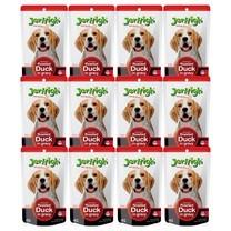 อาหารสุนัขเปียกเจอร์ไฮ เป็ดย่าง 120ก. (1แพ็ก 12 ซอง)